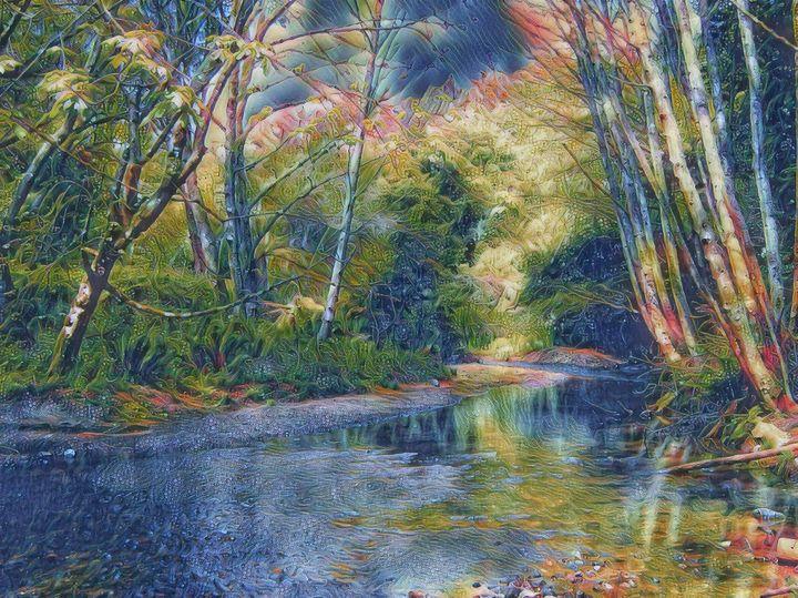 Muir Creek - Markell Smith Gallery