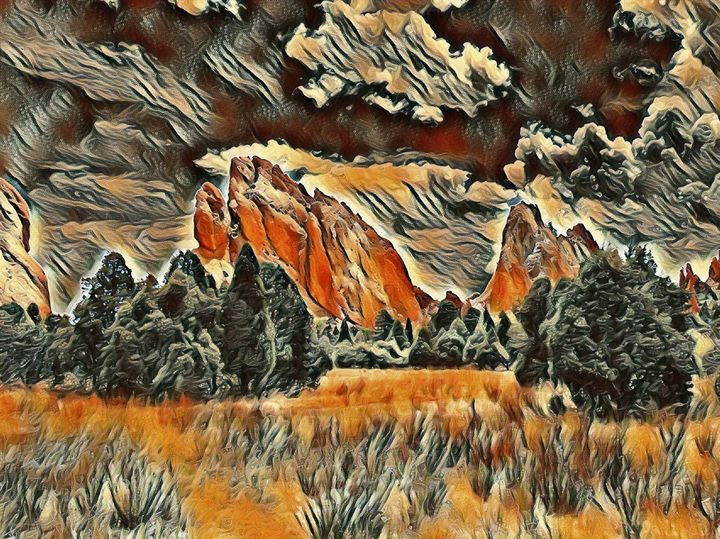 Garden of The Gods - Markell Smith Gallery