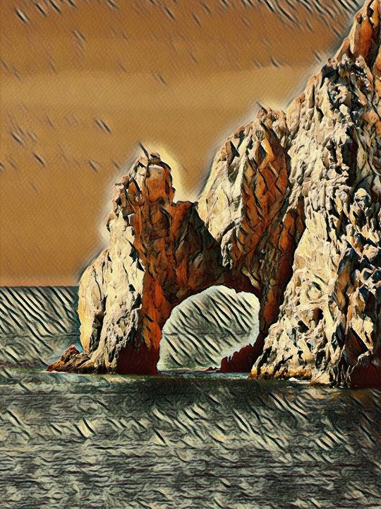 The Cabo Arch - Markell Smith Gallery
