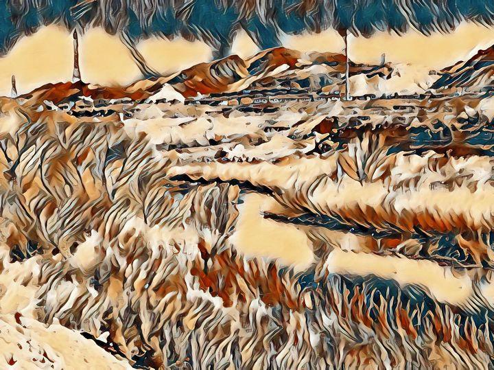 The Desert Stream - Markell Smith Gallery