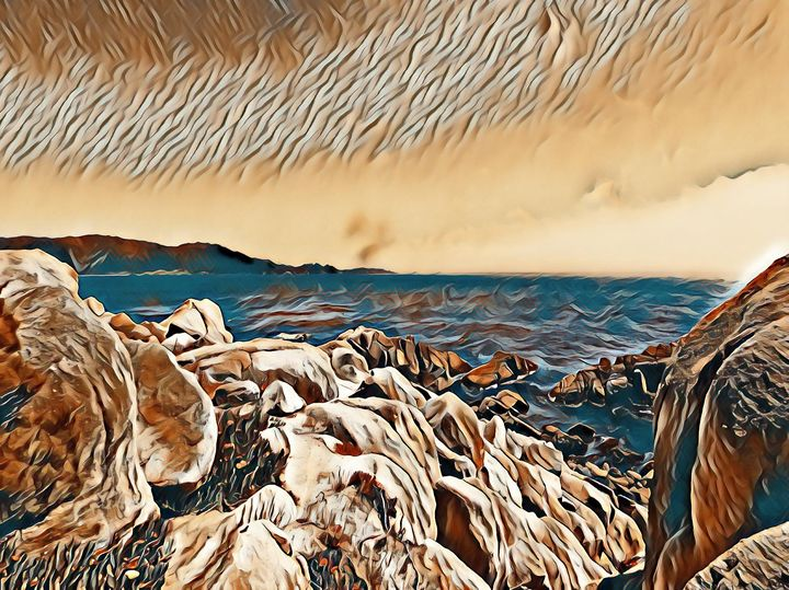 The Monterey Bay - Markell Smith Gallery