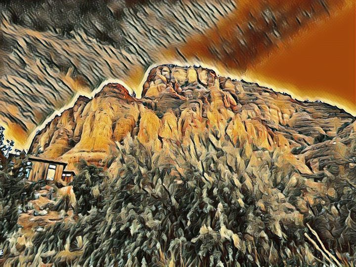 The Canyon Bluffs - Markell Smith Gallery
