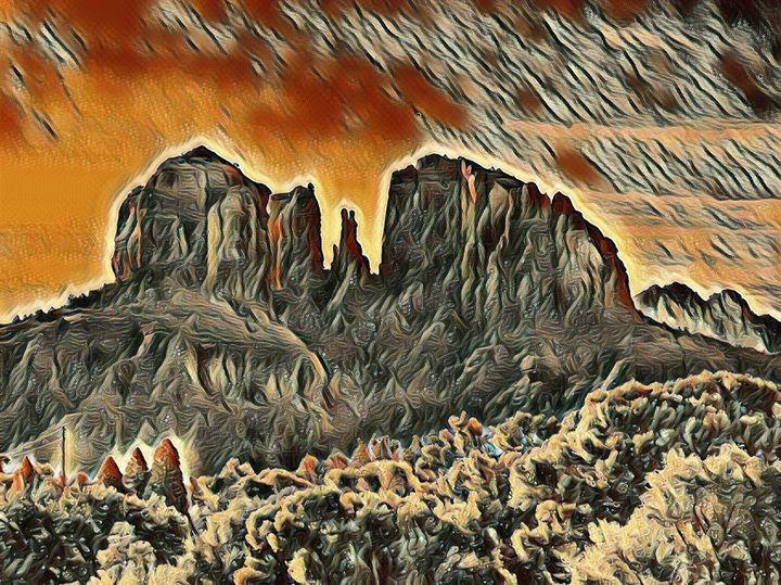 The Arizona Bluffs - Markell Smith Gallery