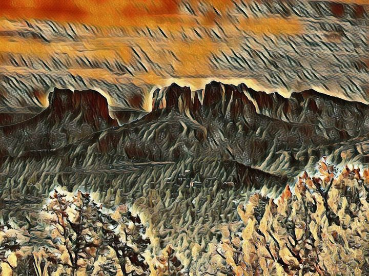 The Sedona Bluffs - Markell Smith Gallery