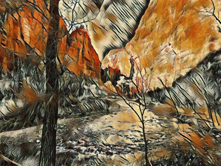 The Zion Canyon - Markell Smith Gallery