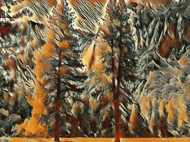 The Yosemite Valley - Markell Smith Gallery