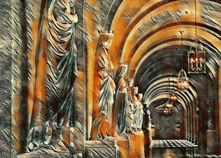 The Versailles Hallway - Markell Smith Gallery