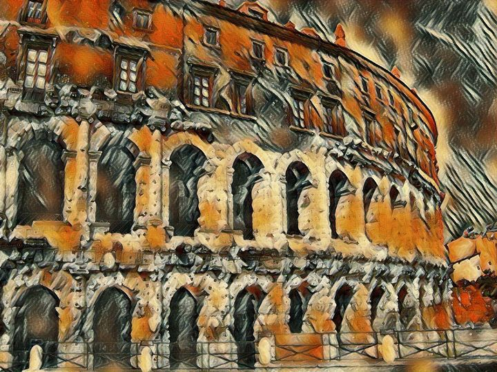 The Colosseum - Markell Smith Gallery