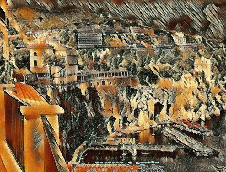 The Sorrento Coastline - Markell Smith Gallery