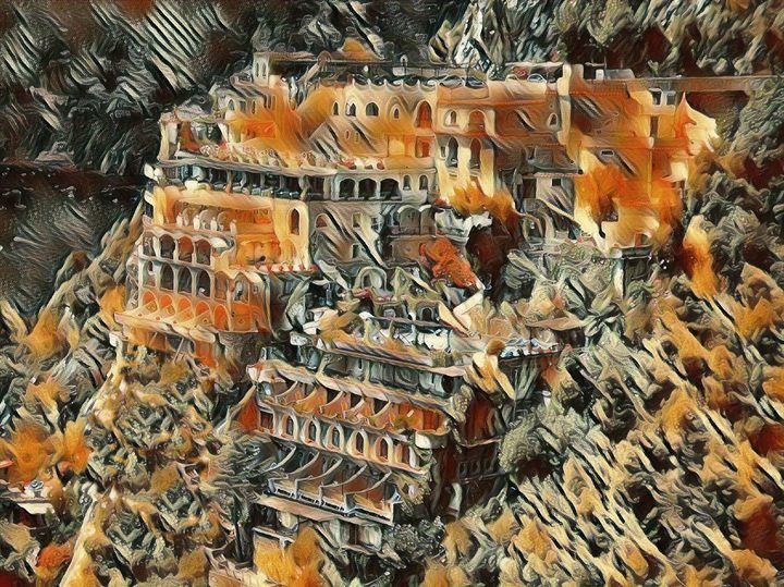 Positano Italy - Markell Smith Gallery