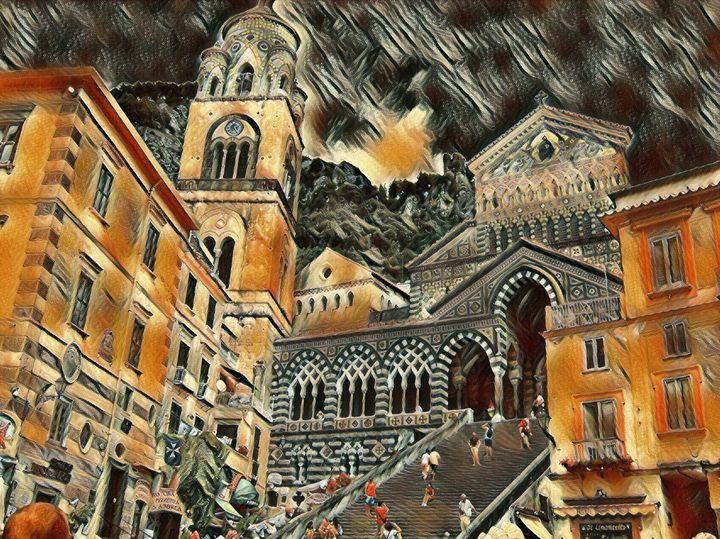 The Amalfi Church - Markell Smith Gallery