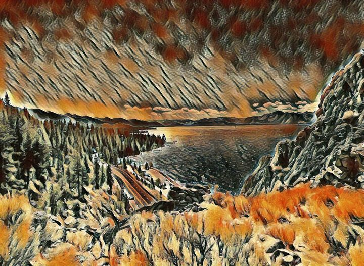 Lake Tahoe - Markell Smith Gallery