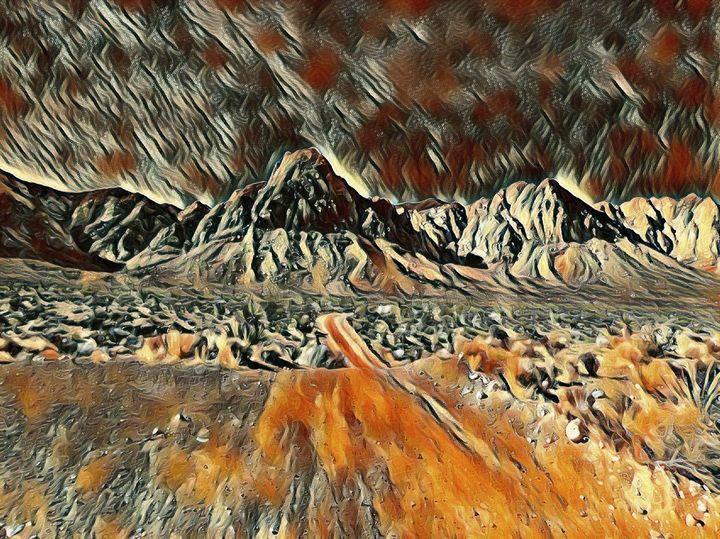 The Desert Landscape - Markell Smith Gallery