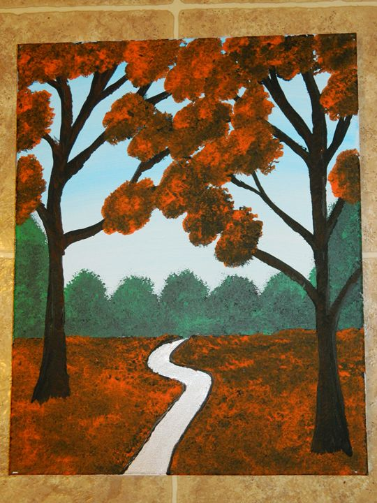 The Fall Path - Markell Smith Gallery