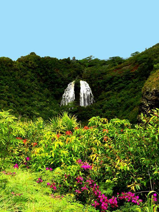 Hawaiian Falls - Markell Smith Gallery