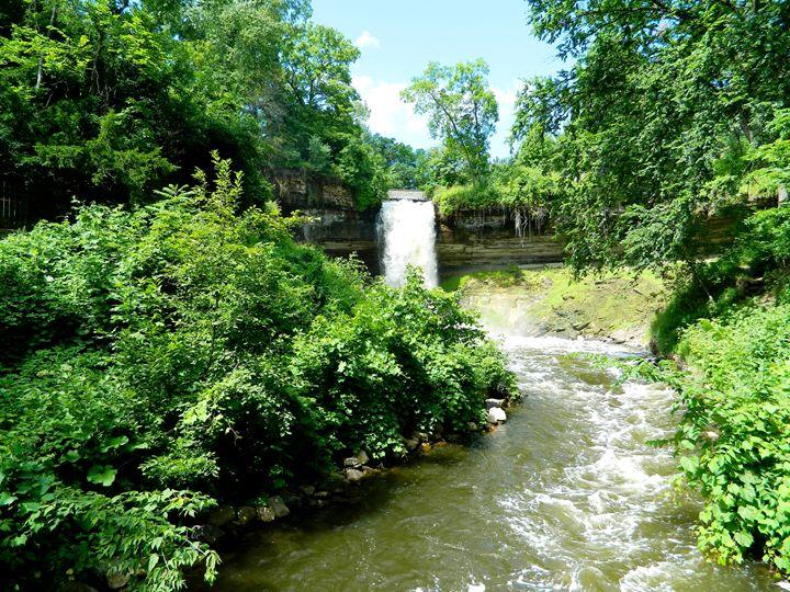 Minnehaha Falls - Markell Smith Gallery