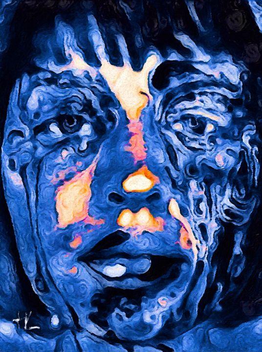 Try keep vibrant while blu - HUMBLELIVINGG ARTZ