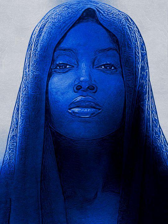 BLUE KEEP THE PEACE - HUMBLELIVINGG ARTZ