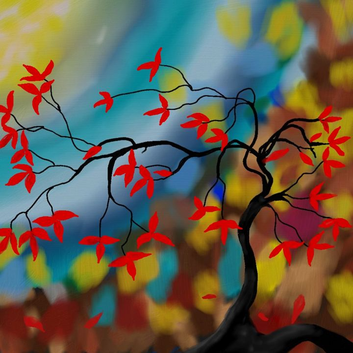 Looking into Autumn - Unger