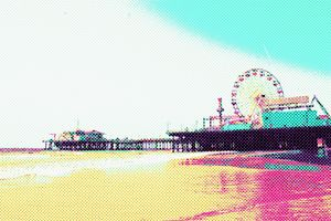 Prismatic Dots Santa Monica Pier
