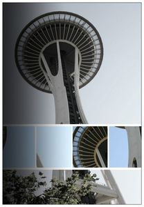 Seattle Space Needle Mosaic
