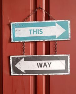 This Way - Which Way?