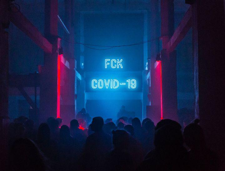FCK COVID-19 Party Dancefloor - Christine aka stine1