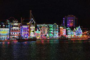 Neon Nights on Curacao