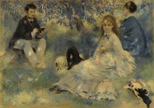 La Famille Henriot by Auguste Renoir