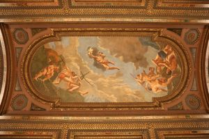 NYC Public Library Ceiling Mural