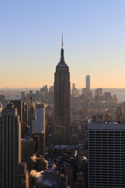 Empire State Building Sunset - Christine aka stine1