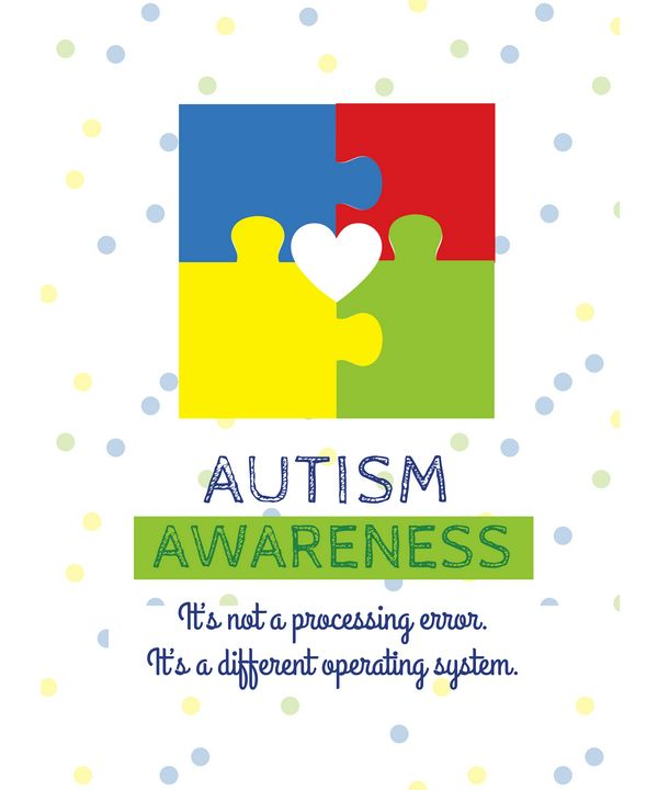Autism Awareness Puzzle Pieces - Christine aka stine1