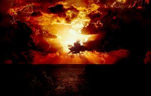 Engulfing Sunset