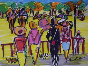 """DUBUC Jean-Louis: """"racing field"""""""