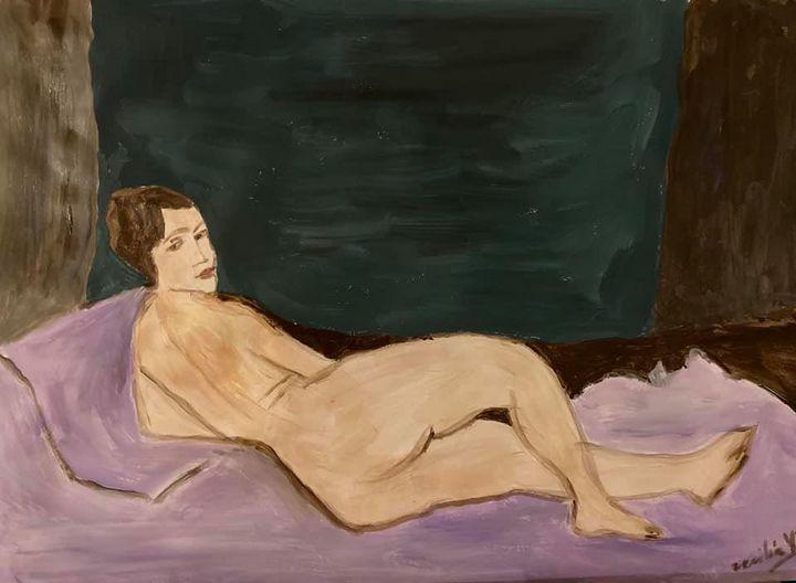 Nude I - Cecilia Vilas Boas