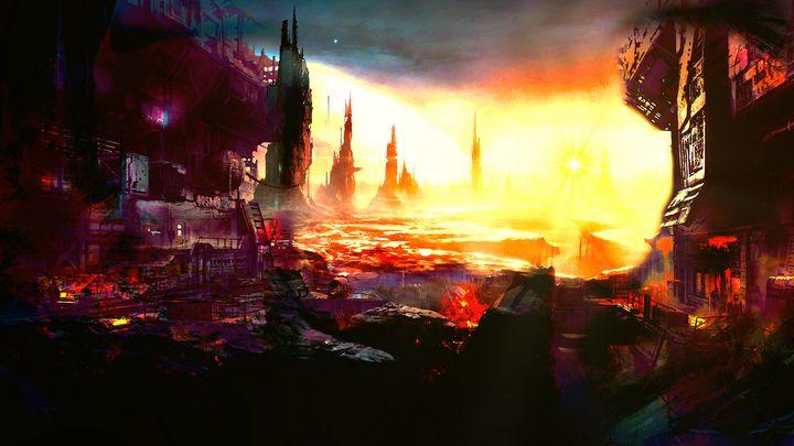 The burning sun - Staffprod