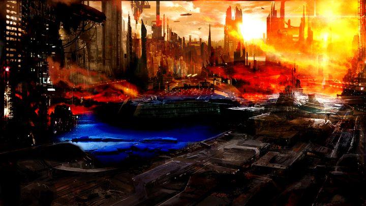 City on fire - Staffprod