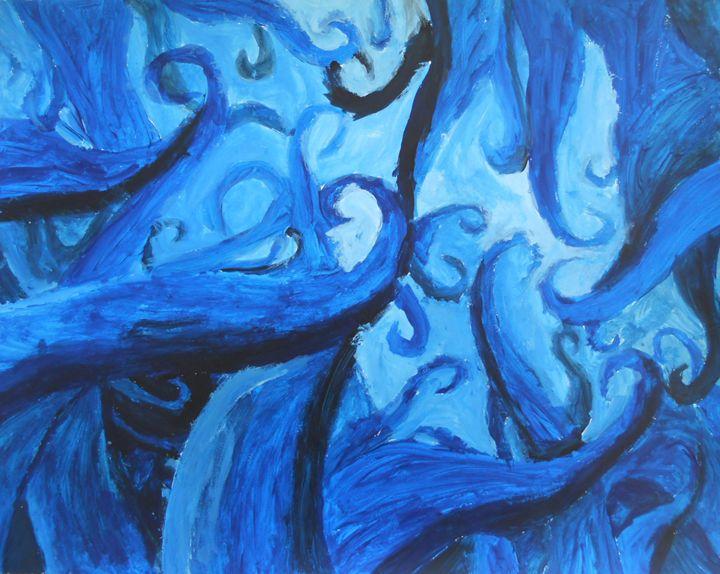 """Looking Up """"The Blue Wonder"""" - Alexander Maurer"""