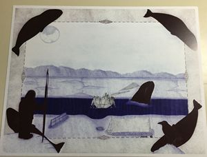 Unique inupiaq print