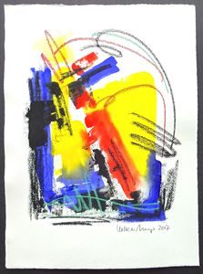 Feel The Sound Of Colours - Gouache
