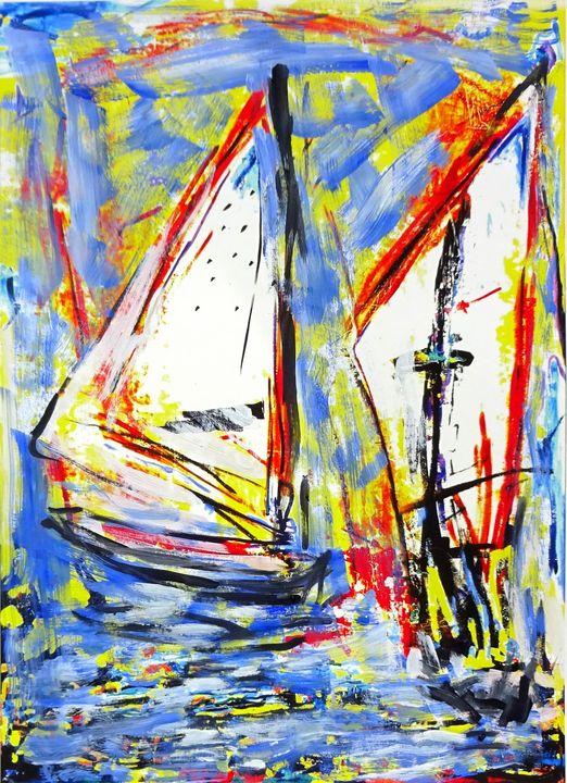 Sailboats Nr.2 - Volker Mayr