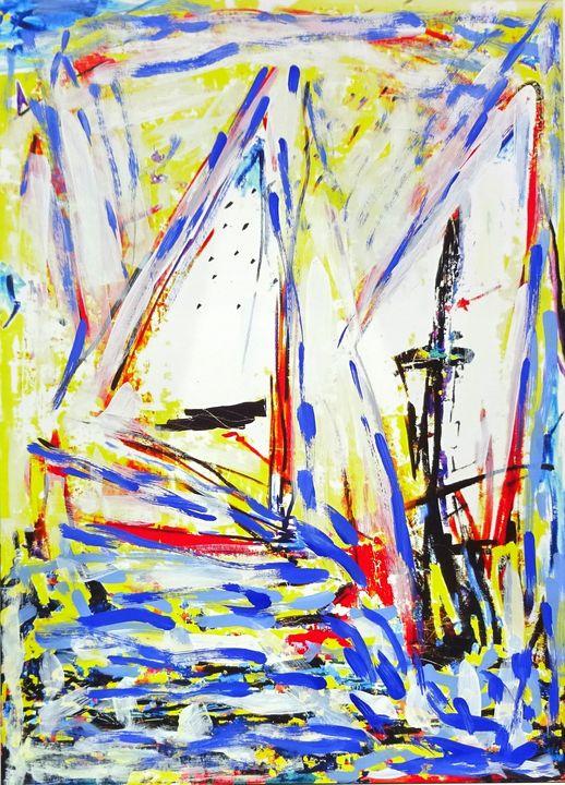 Sailboats Nr.1 - Volker Mayr