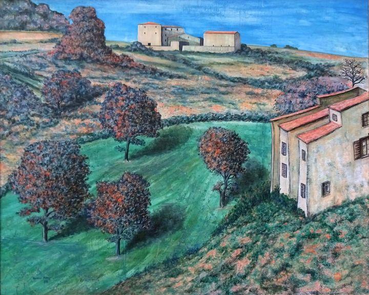 Tuscan Landscape - Volker Mayr