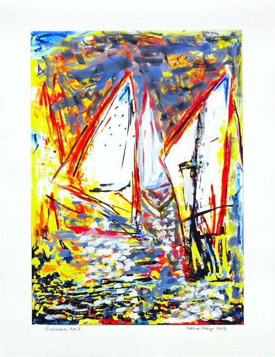 Sailboats Nr.3 of 5 - Volker Mayr