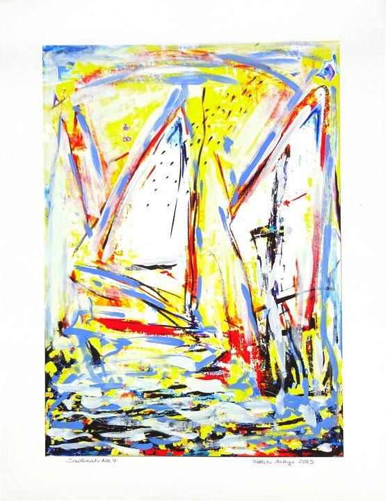 Sailboats Nr. 4 from 5 - Volker Mayr