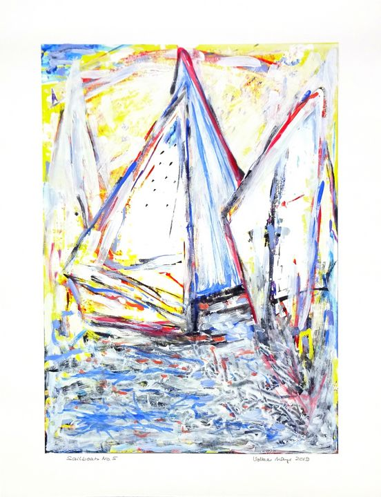 Sailboats Nr. 5 from 5 - Volker Mayr