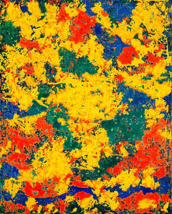 My Water Lilies - oil painting - Volker Mayr