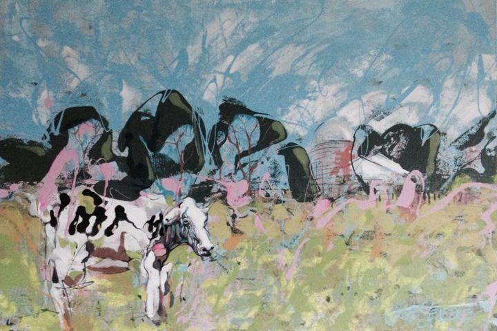 Cow Pasture - Jeff Seaberg Gallery