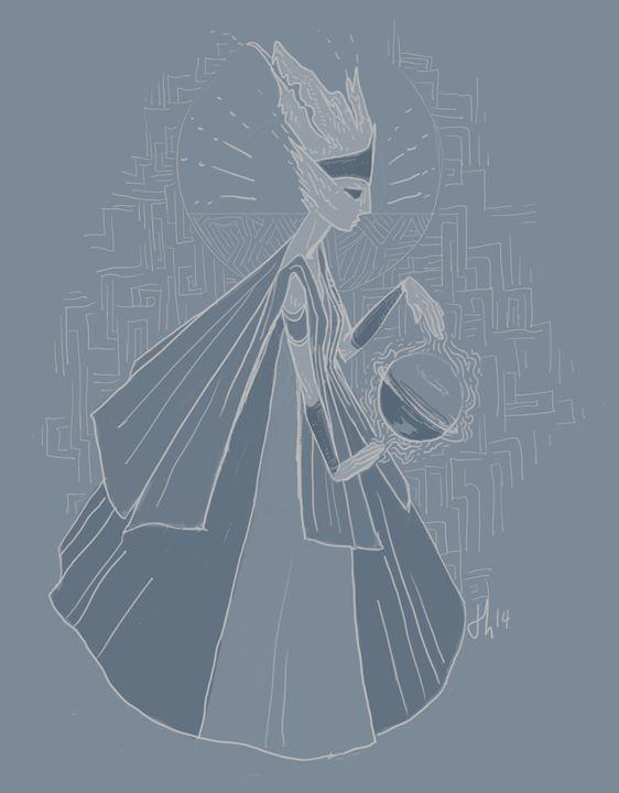 Fallen Queen - Verkha - Izi illustrations
