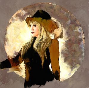 Portrait Stevie Nicks by Brian Tones